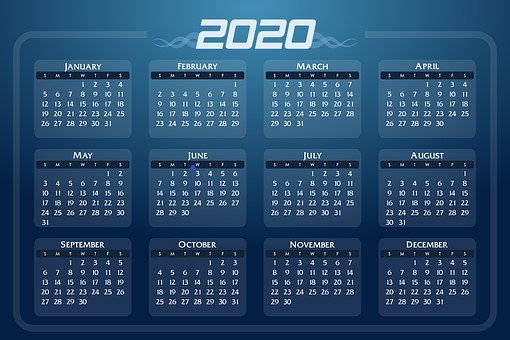 2020 Healthcare Recognition Dates